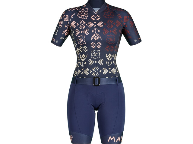 Maloja PuraM. Combinaison de cyclisme Femme, night sky hayfield